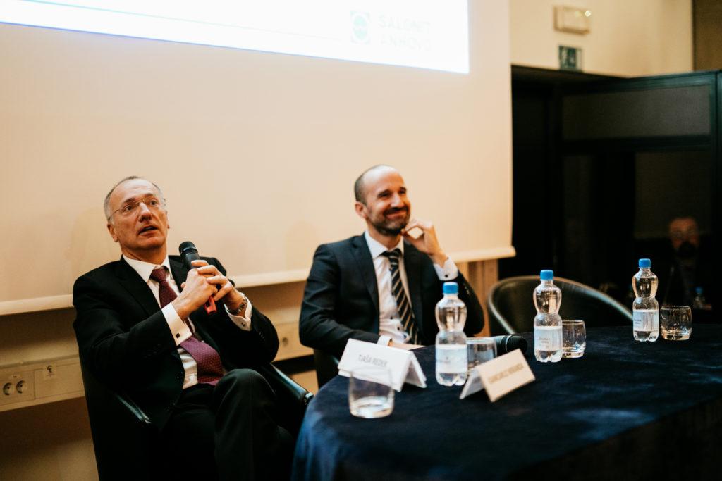 Alessandro Pontoglio, Unicredit Bank, Slovenia - Mitja Feri, Generali Slovenia