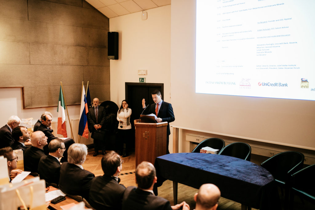 Introduction of the 6th Italian Business Forum