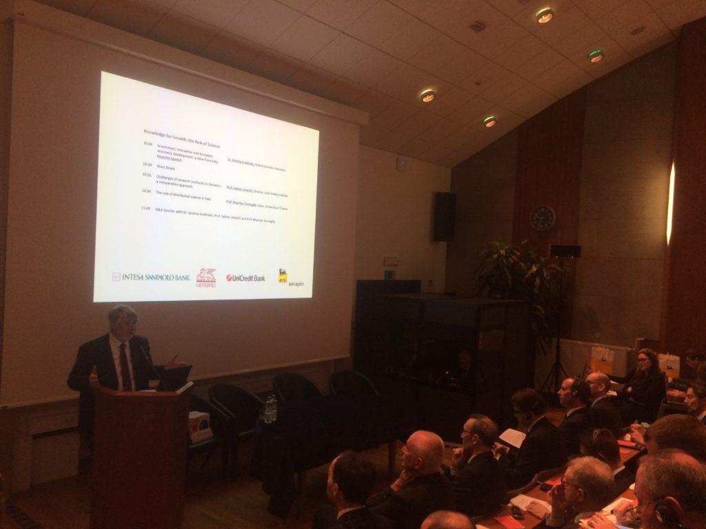 Il ministro Poletti al 6° Italian Business Forum